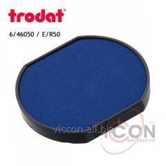 Сменная подушка 6/46050 Trodat синяя ( E/R50 )