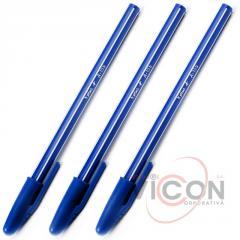 Ручка шариковая Aplus A-155, синяя