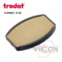 Сменная подушка 6/44045 Trodat неокрашенная (E/45 ov)