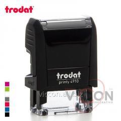 Оснастка для печати PRINTY 4910 Trodat прямоугольная