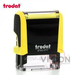 Оснастка для печати PRINTY 4911 Trodat прямоугольная