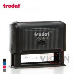 Оснастка для печати PRINTY 4918 Trodat прямоугольная