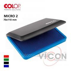 Штемпельная подушка COLOP MICRO-2, ( 70 х 110 mm )