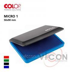 Штемпельная подушка COLOP MICRO-1, ( 50 х 90mm )