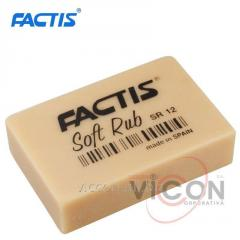 Ластик FACTIS Soft Rub SR12, / 5,4 x 3,5 cm
