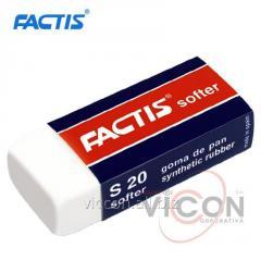 Ластик FACTIS S20 / 5,6 x 2,4 x 1,4cm