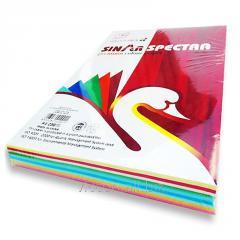 Бумага цветная, А4, 250 листов (ассорти) 10