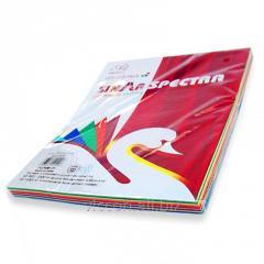 Бумага цветная, А4, 100 листов (ассорти) 10