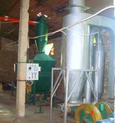 Оборудование для производства топливных брикетов- линия.