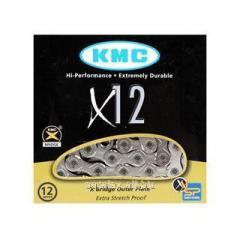 Цепь KMC X12/126 (с замком)