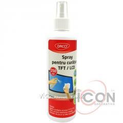 Спрей для очистки мониторов TFT/LSD/LED, 250 ml.,