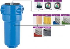 Water main filters