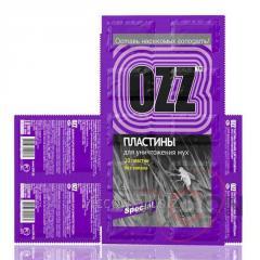 OZZ Special Пластины против мух 10шт фиолетовый