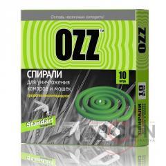 OZZ Standart Спираль от комаров и мошек 10шт