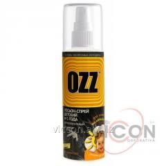 OZZ Baby Лосьон-спрей от насекомых детский от 1