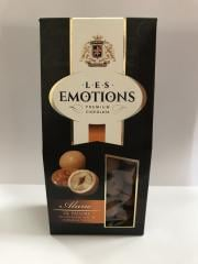 Premium Ciocolata  Les Emotions: 150gr hazelnut in white chocolate with toffee aroma