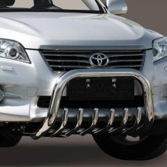 Protection of a front bumper