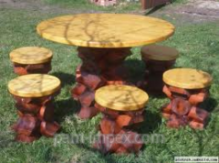 The furniture is country, garden and park of a