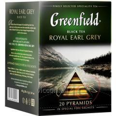Greenfield в пирамидках ROIAL EARL GRAY, чай