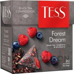 Чай Tess Forest Dream черный, в пирамидках, 20