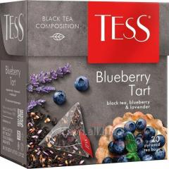 Чай Tess Berry Bar черный, в пирамидках, 20