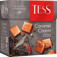 Чай Tess Caramel Charm черный, в пирамидках, 20