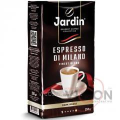 JARDIN ESPRESSO DI MILANO, кофе молотый, 250 гр.
