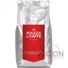 Кофе в зернах PIZZA DEL CAFFE Espresso Forte, 1Kg