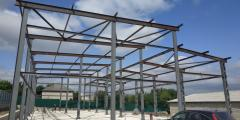 Steel structures from Zerghes SRL
