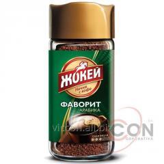 Жокей Фаворит 95 г., кофе растворимый, с/б,