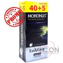 Чай MONOMAX «EARL GRAY» 40+5 пакетиков