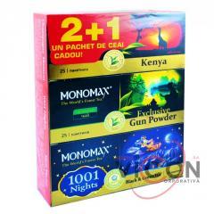 ПАЧКА ЧАЯ В ПОДАРОК ! 2+1(25 пак ), MONOMAX 1001