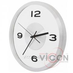Часы настенные металлические ART Economix PROMO серебряные