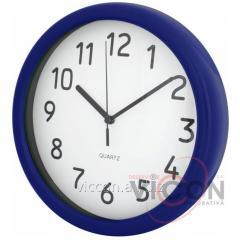 Часы настенные CLASSICAL Economix PROMO синие