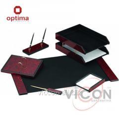 Набор настольный деревянный из 6 предметов OPTIMA