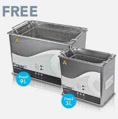 Ультрозвуковая ванночка Free3 liters,  9...