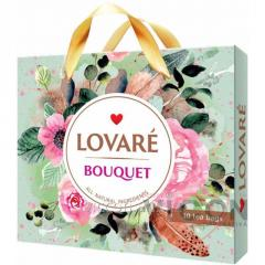 Коллекция чая Lovare Bouquet 6 видов по 5 шт