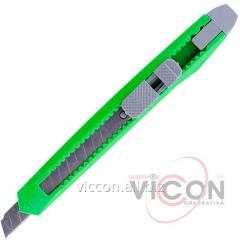 Нож канцелярский D804, лезвие 9 мм