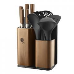 Кухонный набор + Набор ножей на подставке 12 ед.