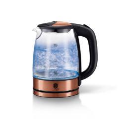 Чайник стеклянный электрический MLRoseGoldE