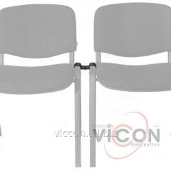 Скоба соединительная с крепежом для стула ISO