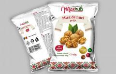 Ядро грецкого ореха жаренное с солью 40 г. \ Miez