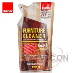 Средство для мебели (запаска) 500 мл. Sano