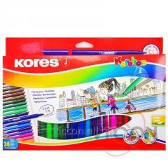 Фломастеры KORES Korellos, 24 цвета