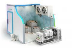 Комплект холодильного оборудования для камеры