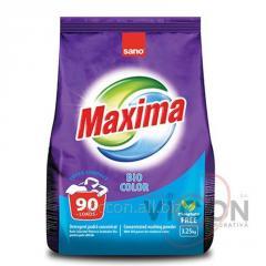 Стиральный порошок концентрат SANO Maxima Bio Color, 3,25 kg. Без фосфата
