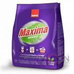 Стиральный порошок концентрат SANO Maxima Advance, 1,25 kg