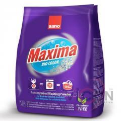Стиральный порошок концентрат SANO Maxima BIO, 1,25 kg