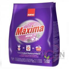 Стиральный порошок концентрат SANO Maxima MUSK, 1,25 kg