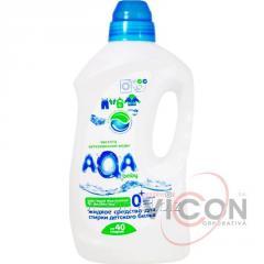 Жидкое ср-во для стирки детского белья AQA BABY,